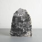 Andrew Gillespie, Silkscreen prints on cast concrete, Manhattan II