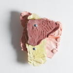 Leah Carless, Not yet titled (wall based plaster fragments) 1