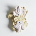 Leah Carless, Not yet titled (wall based plaster fragments) 2