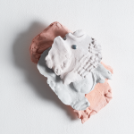 Leah Carless, Not yet titled (wall based plaster fragments) 3