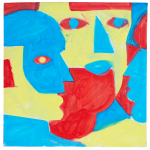 Daniel Sean Kelly, Studies (faces) 4